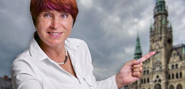 Kandidátka Vajnerová: Politika mě nemusí živit, vnímám ji jako službu