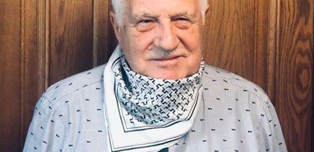 Václav Klaus: Nelze přijmout zdravotnický absolutismus