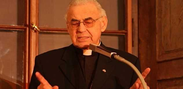 Kardinál Vlk se přátelí s estébákem, šokoval klausovský katolík