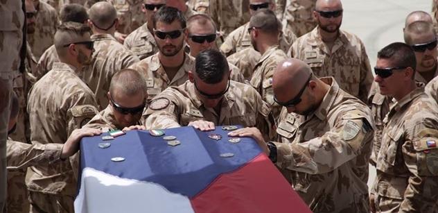 Čeští vojáci, kteří padli v Afghánistánu prý nepochybili, zachránili další životy