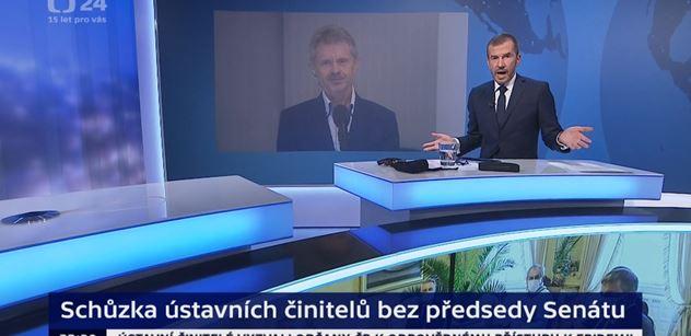 My v ČT nelžeme! sekl Jakub Železný. Vzal papír a začal vymáhat politiku