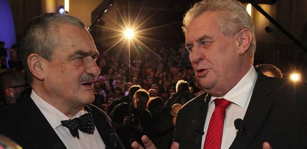 Novinář se diví: Jak to, že se národ neozval proti Zemanovu výroku