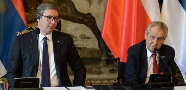 To až uvidí Srbsko: Zeman se omluvil a lezou ven věci
