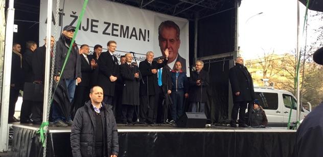Zeman s Konvičkou nám ukradli revoluci. Chce se mi zvracet, svěřil se Jiří X. Doležal