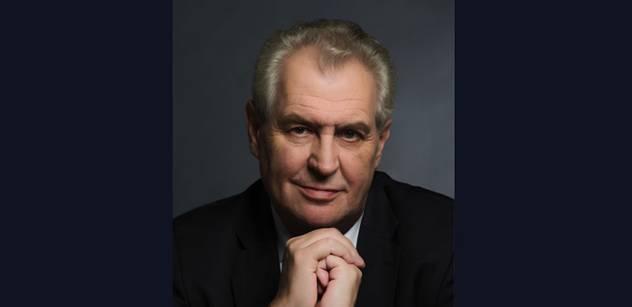 Zemanovi hnije palec z chlastu, píše známý novinář