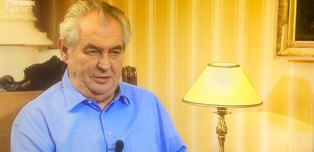 Prezident Zeman má stále důvěru většiny obyvatel