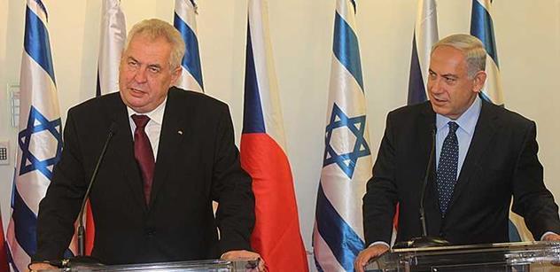 Společné jednání české a izraelské vlády proběhne asi na podzim