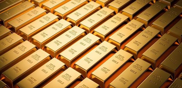 ZLATO.CZ: Centrální banky mají pětinu zlata, které kdy bylo vytěženo. Česko se zlata zbavuje
