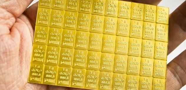 Zlato.cz: Češi už mají doma víc zlata, než národní banka v trezorech