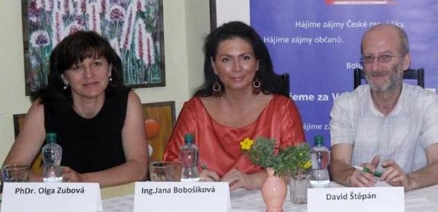 Olga Zubová hlásí návrat do politiky. Bude kandidátkou Bobošíkové